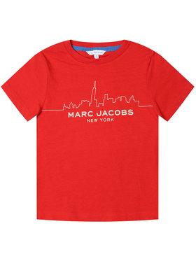 Little Marc Jacobs Little Marc Jacobs T-shirt W25412 Rosso Regular Fit