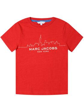 Little Marc Jacobs Little Marc Jacobs Тишърт W25412 Червен Regular Fit