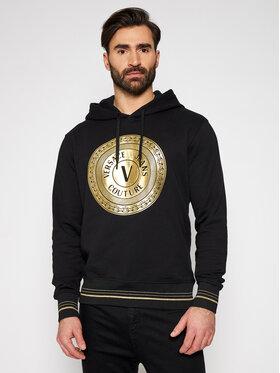 Versace Jeans Couture Versace Jeans Couture Суитшърт B7GWA7TX Черен Regular Fit