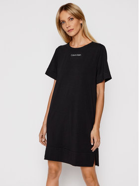 Calvin Klein Underwear Calvin Klein Underwear Sukienka codzienna 000QS6703E Czarny Regular Fit