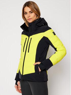 Descente Descente Kurtka narciarska Chloe DWWQGK08 Żółty Regular Fit