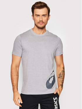 Asics Asics T-Shirt Low Big Logo 2031A975 Šedá Regular Fit