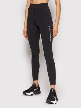 Nike Nike Leggings Sportswear Swoosh CZ8901 Nero Tight Fit