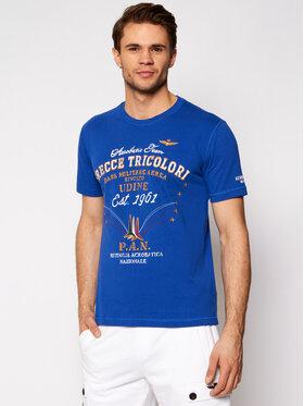 Aeronautica Militare Aeronautica Militare T-shirt 211TS1844J509 Plava Regular Fit