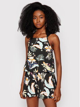 Roxy Roxy Φόρεμα καλοκαιρινό Favorite Song ERJKD03324 Μαύρο Regular Fit