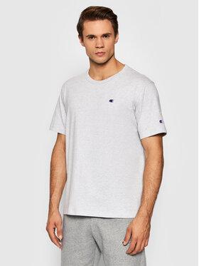 Champion Champion T-Shirt Crewneck 216545 Szary Regular Fit