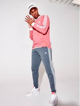 adidas adidas Longsleeve 3-Stripes GP1028 Rosa Regular Fit