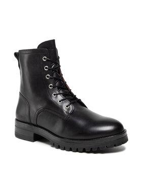 Guess Guess Kotníková obuv FMVLU8 LEA11 Černá