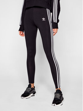 adidas adidas Leginsai adicolor Classics 3-Stripes GN4504 Juoda Tight Fit