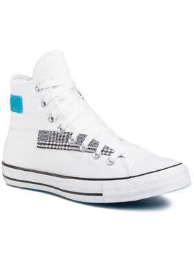 Converse Converse Sneakers aus Stoff Ctas Hi 168746C Weiß