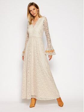 Pinko Pinko Vakarinė suknelė Titti 20201 PBK2 1B14BM 7979 Smėlio Regular Fit