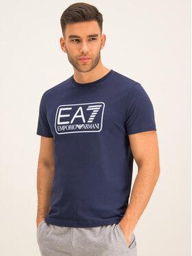 EA7 Emporio Armani EA7 Emporio Armani Тишърт 8NPT10 PJNQZ 1554 Тъмносин Regular Fit