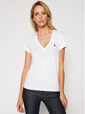 Polo Ralph Lauren Polo Ralph Lauren T-Shirt 211810419002 Biały Regular Fit