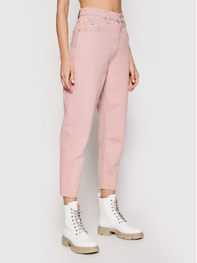 Tommy Jeans Tommy Jeans Jeans Mom Ultra Hr DW0DW09900 Rosa Mom Fit