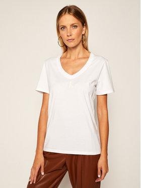 Calvin Klein Jeans Calvin Klein Jeans T-Shirt J20J214234 Biały Regular Fit