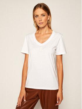 Calvin Klein Jeans Calvin Klein Jeans T-Shirt J20J214234 Bílá Regular Fit