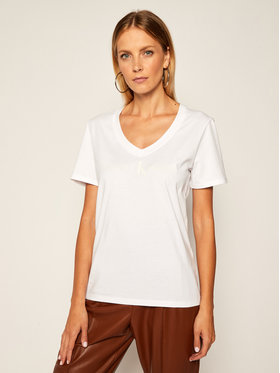 Calvin Klein Jeans Calvin Klein Jeans T-Shirt J20J214234 Weiß Regular Fit