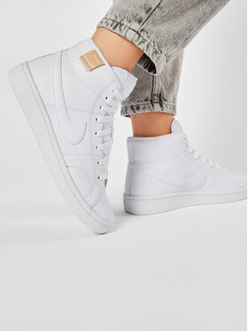NIKE NIKE Chaussures Court Royale 2 Mid CT1725 100 Blanc
