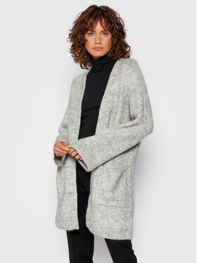 YAS YAS Cardigan Alva 26023556 Gris Relaxed Fit