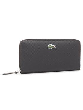 Lacoste Lacoste Portefeuille femme grand format L Zip Wallet NF2900PO Noir