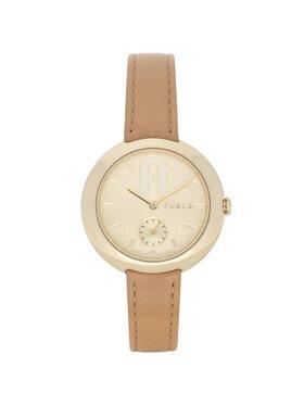Furla Furla Zegarek Cosy Seconds WW00013-VIT000-MI000-1-007-20-CN-W Beżowy