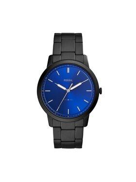 Fossil Fossil Uhr The Minimalist 3H FS5693 Schwarz