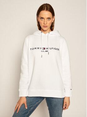 TOMMY HILFIGER TOMMY HILFIGER Bluză Ess WW0WW26410 Alb Regular Fit