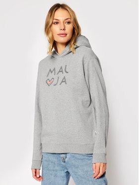 Maloja Maloja Džemperis MassangM. 30417-1-7096 Pilka Regular Fit