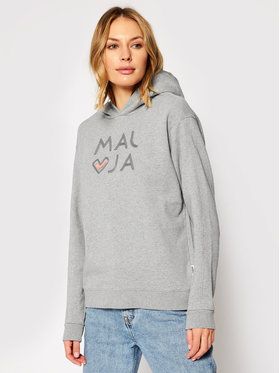 Maloja Maloja Sweatshirt MassangM. 30417-1-7096 Gris Regular Fit