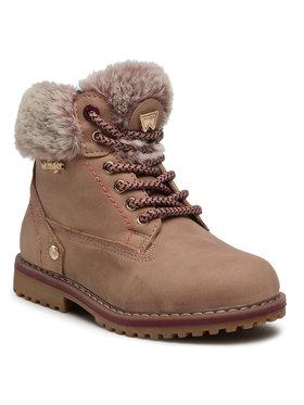 Wrangler Wrangler Turistická obuv Creek Fur Girl WG0211BA Růžová