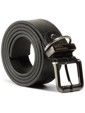 Trussardi Jeans Trussardi Jeans Vyriškas Diržas Belt H. 3,5 Tumbled 71L00113 Juoda
