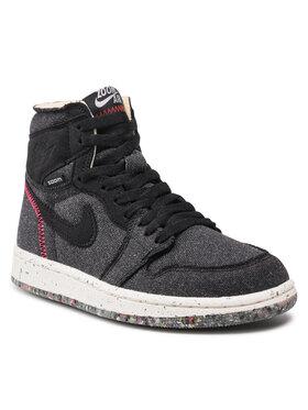 Nike Nike Cipő Air Jordan 1 High Zoom CW2414 001 Fekete