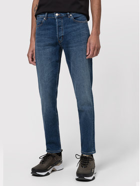 Boss Boss Jeansy Tapered Fit HUGO 634 50437775 Mėlyna Tapered Fit