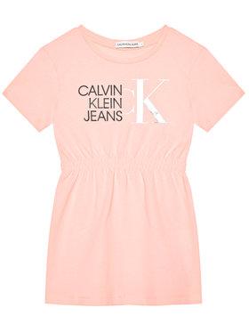 Calvin Klein Jeans Calvin Klein Jeans Kasdieninė suknelė Hybrid Logo IG0IG00913 Rožinė Regular Fit