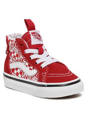 Vans Vans Sneakersy Sk8-Hi Zip VN0A4BV13VB1 Czerwony