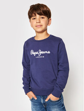 Pepe Jeans Pepe Jeans Džemperis Winter Ronit PB581254 Tamsiai mėlyna Regular Fit