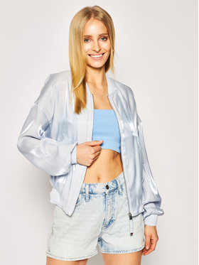 Guess Guess Bomberjacke Chloe W0GL24 WCUA0 Blau Regular Fit