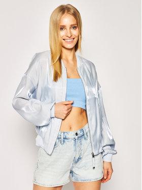Guess Guess Μπόμπερ μπουφάν Chloe W0GL24 WCUA0 Μπλε Regular Fit