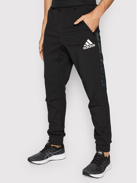 adidas adidas Pantaloni trening Designed To Move H28788 Negru Regular Fit