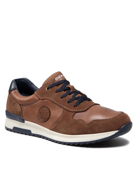 Rieker Rieker Sneakersy 16113-21 Brązowy