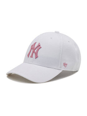 47 Brand 47 Brand Casquette New York Yankees B-MVPSP17WBP-WHC Blanc