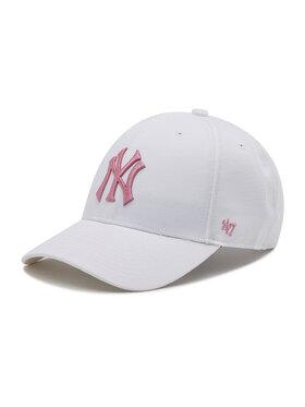 47 Brand 47 Brand Kšiltovka New York Yankees B-MVPSP17WBP-WHC Bílá