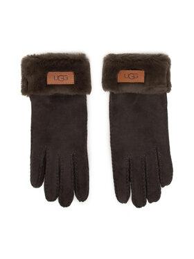 Ugg Ugg Dámské rukavice W Turn Cuff Glove 17369 Šedá