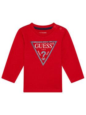 Guess Guess Bluză N84I24 K8HM0 Roșu Regular Fit