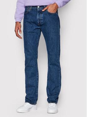 Levi's® Levi's® Džínsy 501® 00501-0114 Tmavomodrá Original Fit