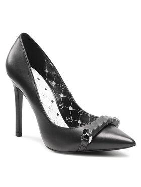 Eva Minge Eva Minge Pantofi cu toc subțire EM-41-09-001146 Negru