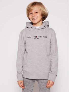 Tommy Hilfiger Tommy Hilfiger Majica dugih rukava Essential KB0KB05673 D Siva Regular Fit