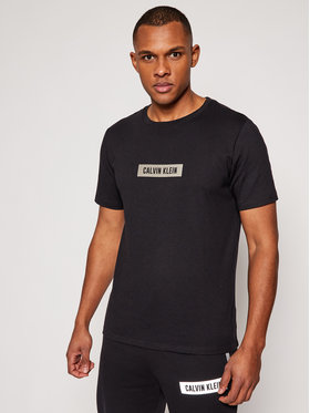 Calvin Klein Performance Calvin Klein Performance T-Shirt Pw 00GMS1K142 Czarny Regular Fit