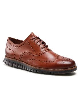 Cole Haan Cole Haan Κλειστά παπούτσια Zerogrand Wing Ox C29411 Καφέ