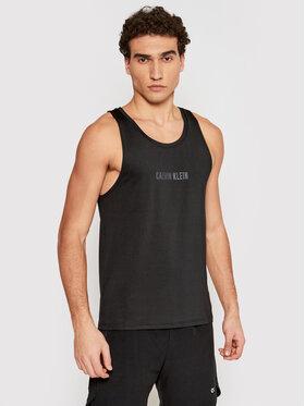 Calvin Klein Performance Calvin Klein Performance Tank top marškinėliai Wo 00GMS1K269 Juoda Regular Fit
